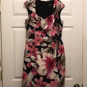 Women's Connected dress with red flower dress